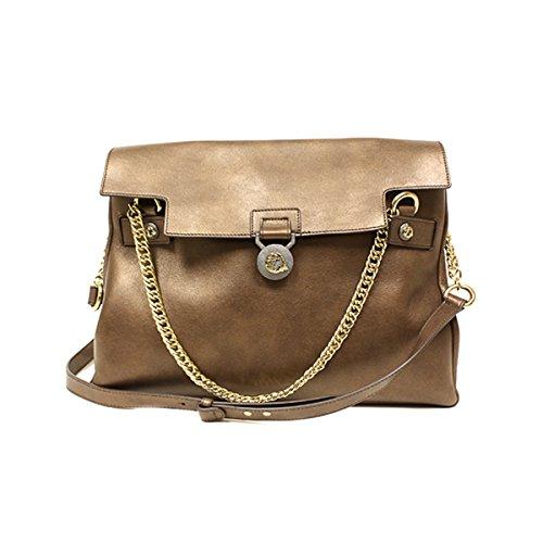 Versace Collection Handbag Vitello Perlato 796427