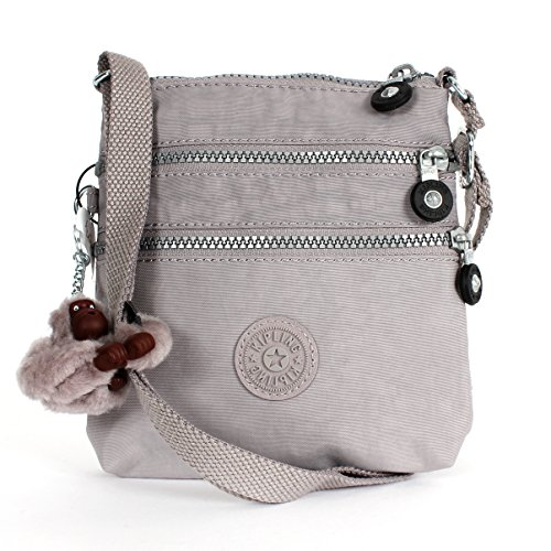 Kipling Alvar X-small Cross Body Mini Bag in Gull