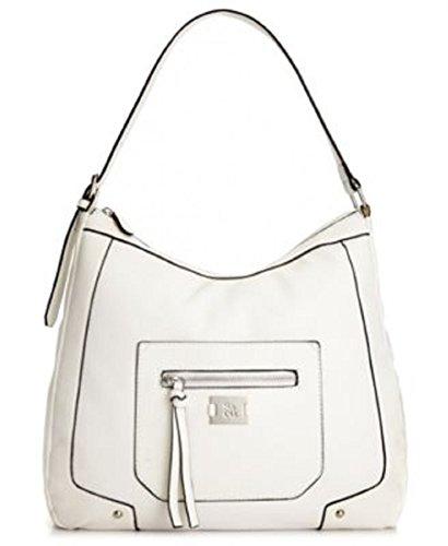 Style&co. Angled Overlay Hobo Handbag White