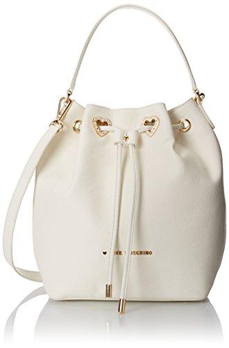 Love Moschino Bucket Bag with Detachable Cross Body