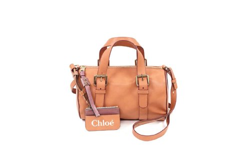 Chloe Handbags Sam Bowling Duffle Satchel In Gazelle 3s0099-311
