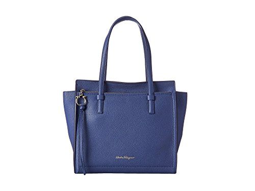 Ferragamo Amy Leather Handbag – New Iris