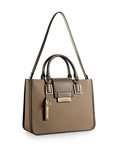 Calvin Klein Valerie Triple Compartment Tote Handbag