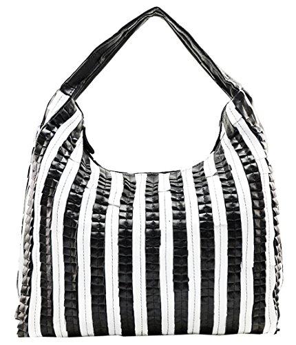 Heshe Soft New Ladies' Genuine Leather European & American Fashion Sheepskin Punk Simple Style Vintage Shoulder Crossbody Bag Satchel Purse Fit Laptop Women's Handbag Hot Sell
