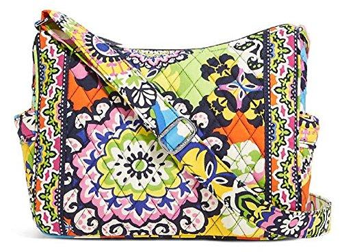 Vera Bradley On the Go Shoulder Hobo Style Handbag in Rio