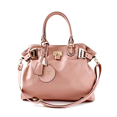 Elenar-Characteristic Women's Shoulder Cross Evening Bag With Soft Faux Leather 14k plated