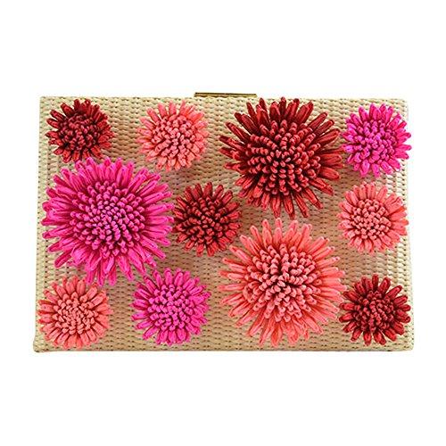 Kate Spade New York Floral Emanuelle Montigo Avenue Clutch Natural