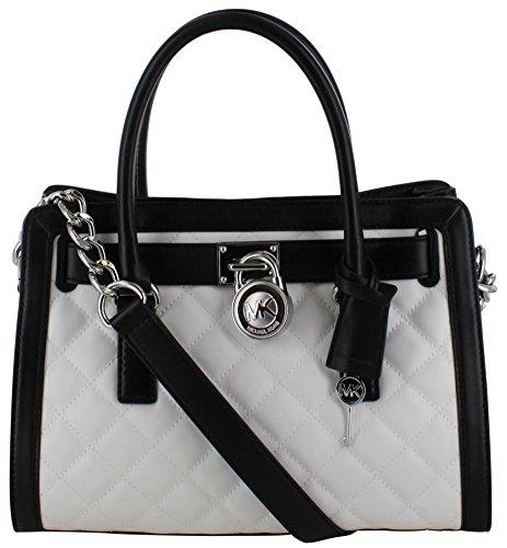 Michael Kors Hamilton Women's Quilted Satchel Handbag Bag