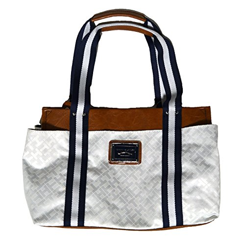 Tommy Hilfiger Medium Iconic Purse Handbag White