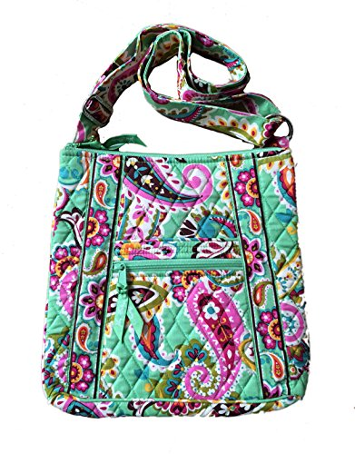Vera Bradley Hipster in Tutti Fruiti with Solid Pink Interior