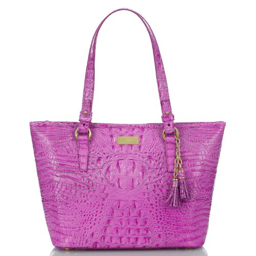 NEW AUTHENTIC BRAHMIN ASHER SHOULDER TOTE (Peony Melbourne)