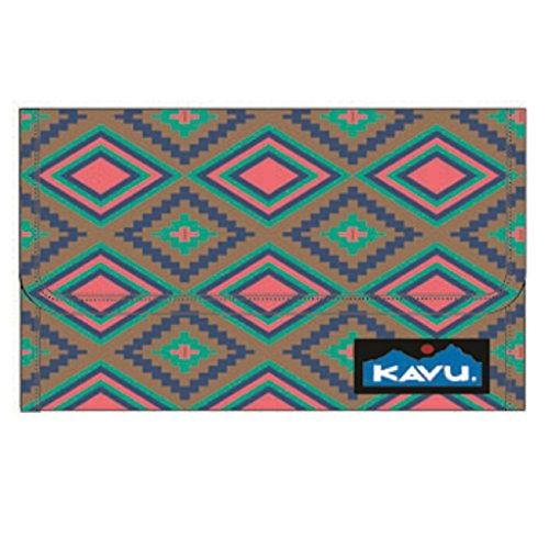 Kavu Women's Big Spender Wallet, Diamond Quilt, One Size