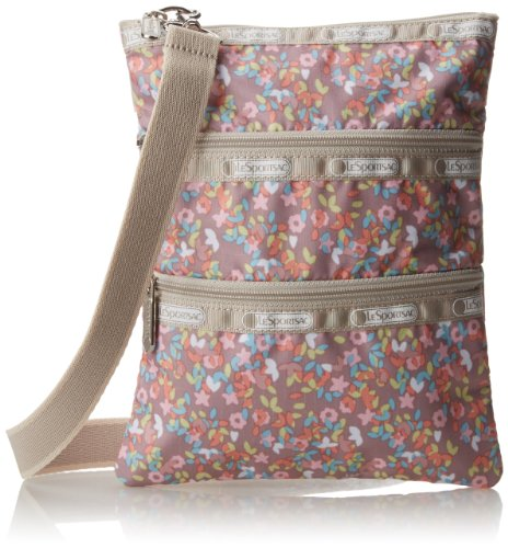 LeSportsac Kasey Cross-Body Handbag,French Meadows,One Size