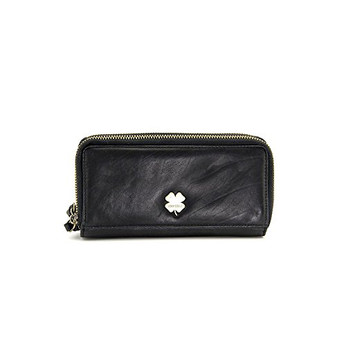 Lucky Brand Laser Cut Clutch Wallet with Handstrap