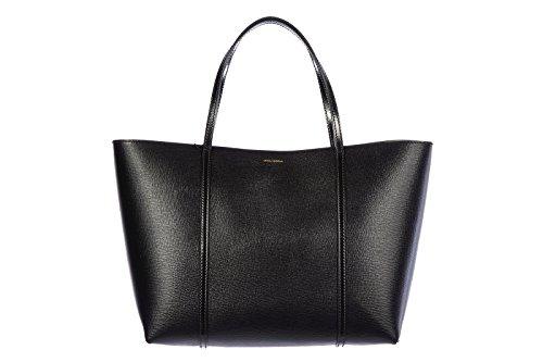 DOLCE&GABBANA women's leather shoulder bag original calfskin black