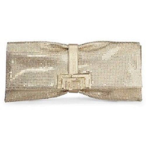 NEW Judith Leiber Austrian Crystal Nora Clutch – Champagne/gold Retail $3995