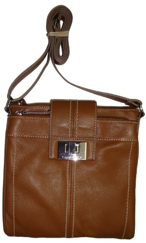 Tignanello Women's/Girl's Fab Function N/S Xbody Handbag, Cognac