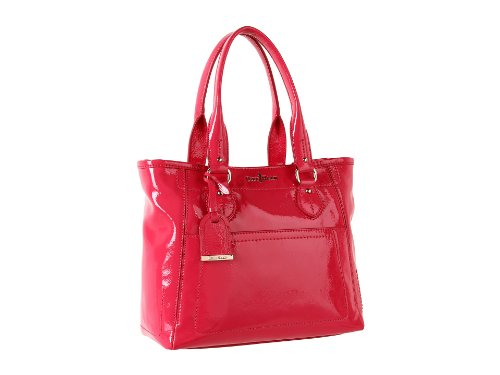 Cole Haan Womens Linley Small Tote Punch Patent, One Size