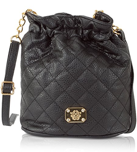 Jessica Simpson Katie Quilted Bucket Crossbody Mini Bag