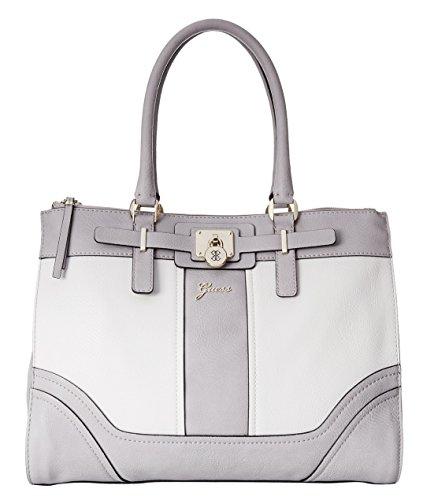 GUESS Greyson Status Satchel Bag, Dove Multi