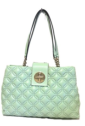 Kate Spade Elena Astor Court Faded Mint Handbag