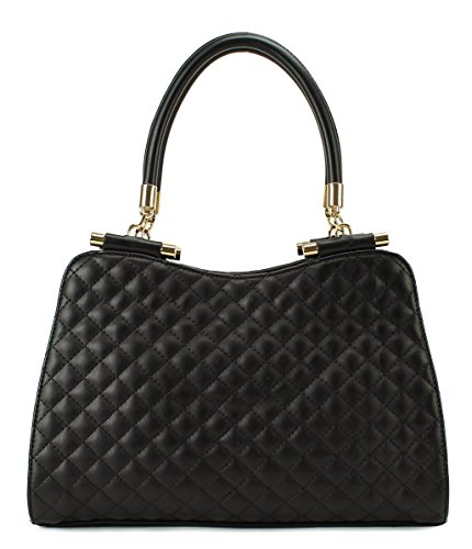 Scarleton Classic Quilted Office Satchel H1654