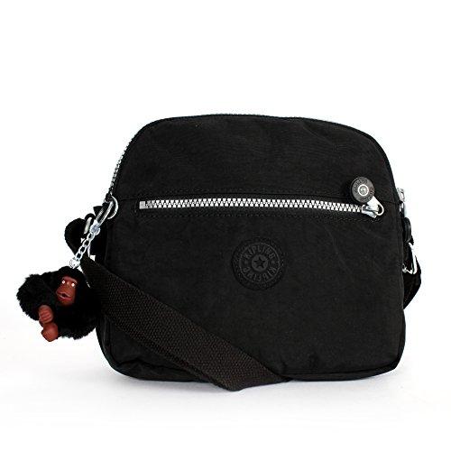 Kipling Keefe Shoulder Bag Crossbody Black