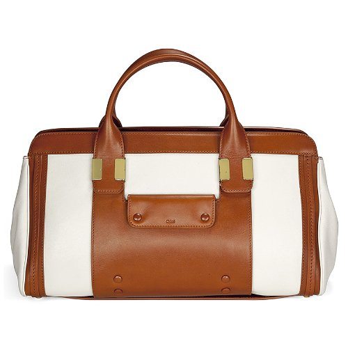 Chloe Alice Tan – White Leather Shoulder Bag 3S0161-703-1