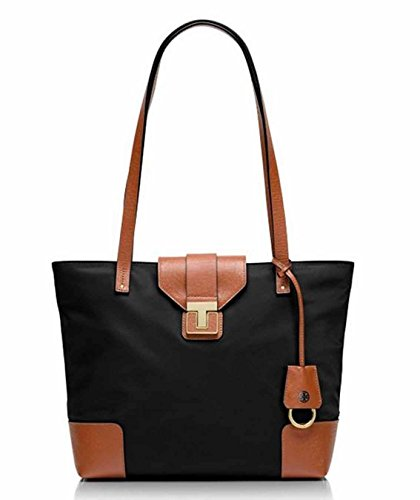 Tory Burch Nylon and Leather Mini Penn Tote