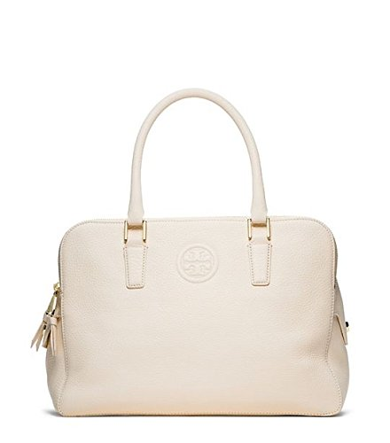Tory Burch Marion Triple-zip Satchel New Ivory Leather New