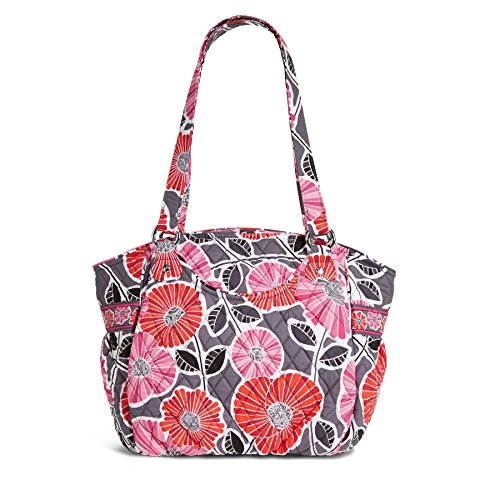 Vera Bradley Glenna Shoulder Bag (Cheery Blossoms)