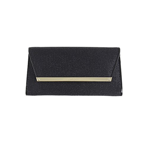 Jimmy Choo Ladies 2WAY Clutch Black Bag MARGOT LAG NERO