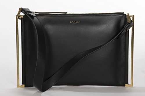 Lanvin Zeeta Clutch Bag – Black