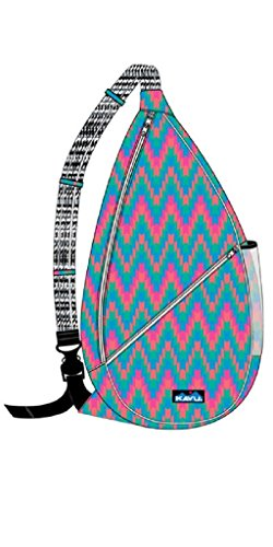 Kavu Women's Paxton Pack, Neon Tile, One Size