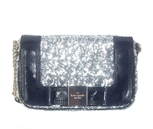 Kate Spade New York Primrose Hill Little Kaelin Sequin Evening Bag, Silver