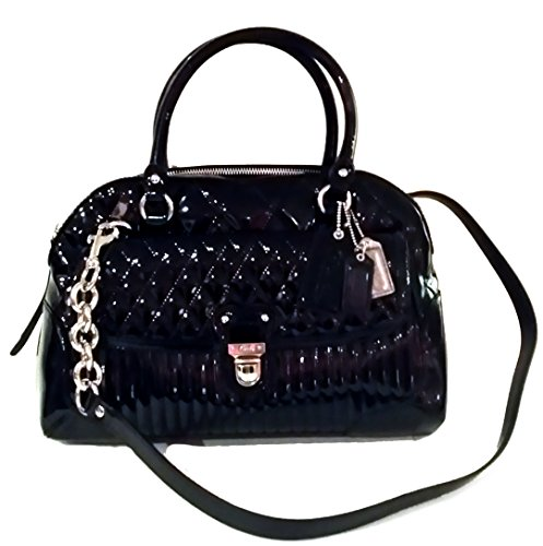 Coach Poppy Liquid Gloss Satchel Top Handle Bag