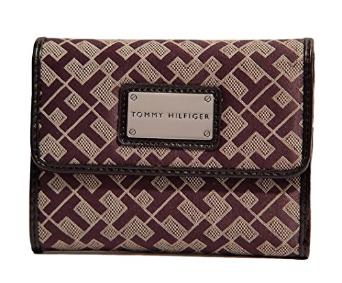 Tommy Hilfiger Women's French Wallet Clutch Bag, Brown