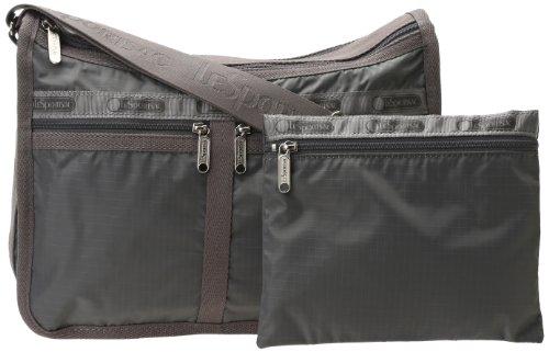 LeSportsac Deluxe Everyday Handbag Satchel,Zinc,One Size