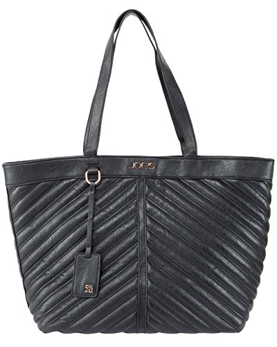 Joe's Jeans Sassy Quilted Shopping Tote Shoulder Bag