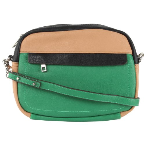Jessica Simpson Greta Crossbody Bag-Pine Green