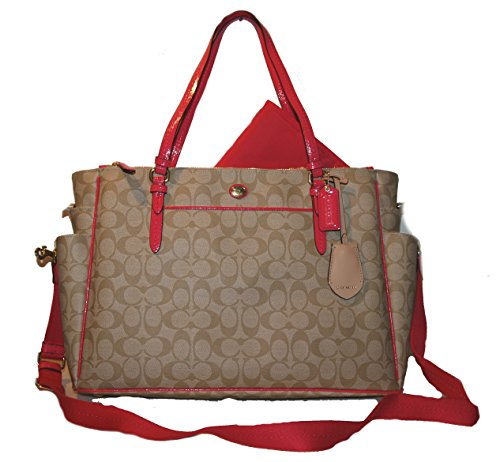 Coach Peyton Multifunction Baby Diaper Travel Laptop Bag