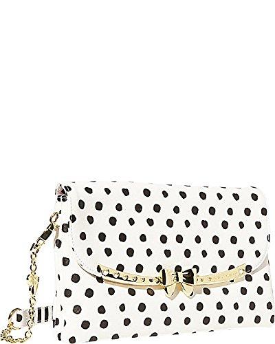 Betsey Johnson Serenity Cross Body Shoulder Bag, Dots