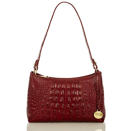 NEW AUTHENTIC BRAHMIN ANYTIME MINI DEMI (Carmine Red Melbourne)