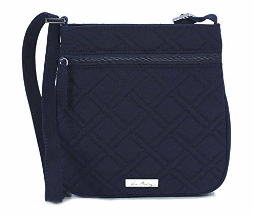 Vera Bradley Petite Double Zip Hipster Classic Navy Crossbody Purse Bag