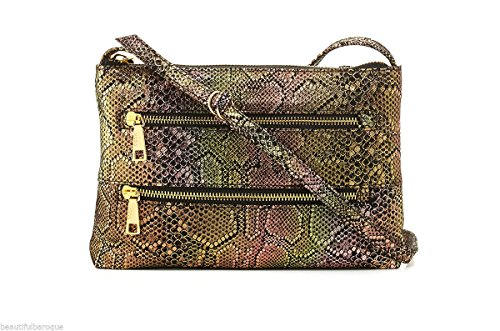 Hobo International Mara Swing Pack Crossbody Bag in Iridescent Exotic