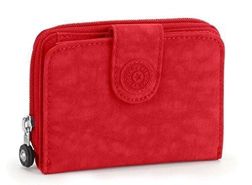 Kipling New Money Wallet Purse Tango Red