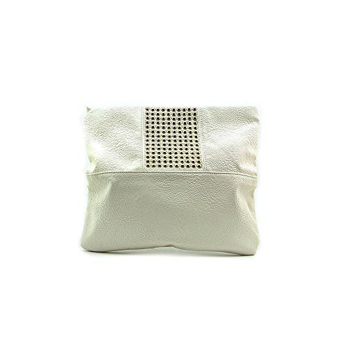 Steve Madden Zarren Clutch Womens Faux Leather Clutch