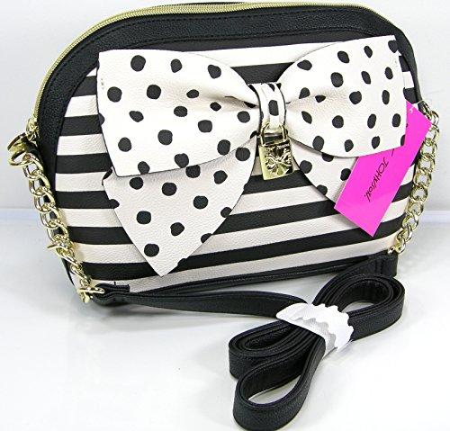 Betsey Johnson Bow Nanza Crossbody Bag, Multi