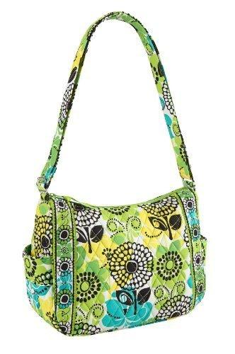 Vera Bradley On the Go Handbag in Lime's Up