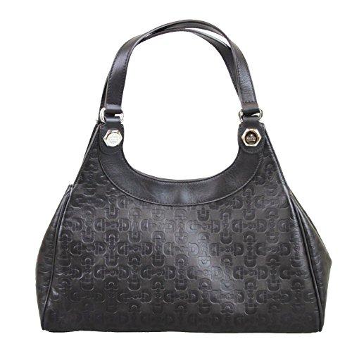Gucci Horsebit Brown Leather Charmy Hobo Bag Handbag 289714 2038